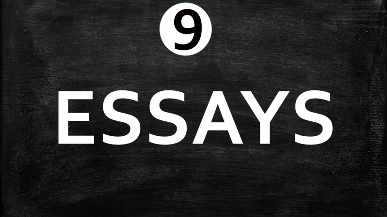 English Worksheets-Essays, What Do We Write, Learn English With Africa, October 2017