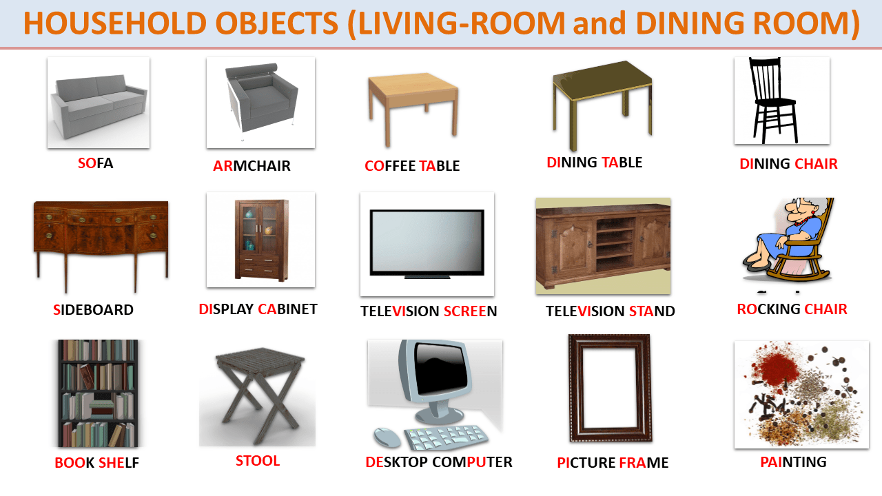Short Story (Level A2-B1-B2): THINGS (with Objects ...