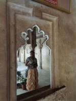 Mirror effect at Udaipur's city palace