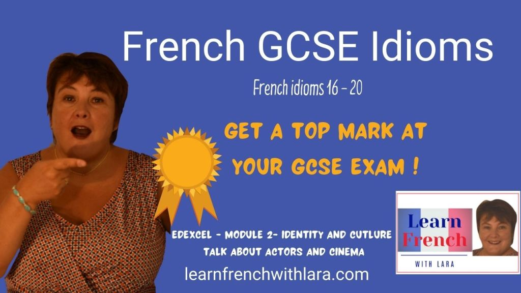 French GCSE cinema