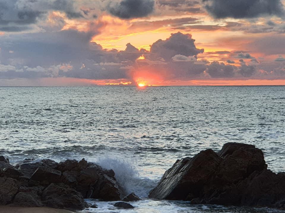 sunset in Les sable d'Olonne