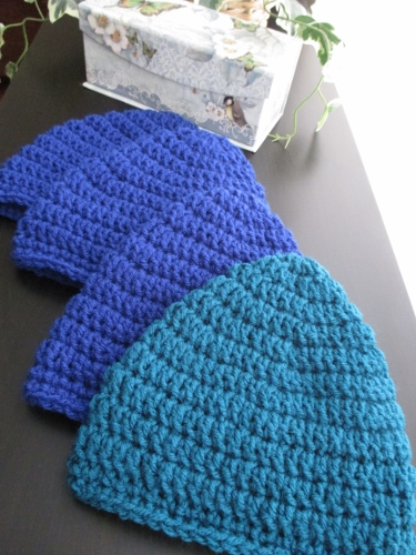 Crocheting Caps for Cancer Patients with Love d81f28b1d2a