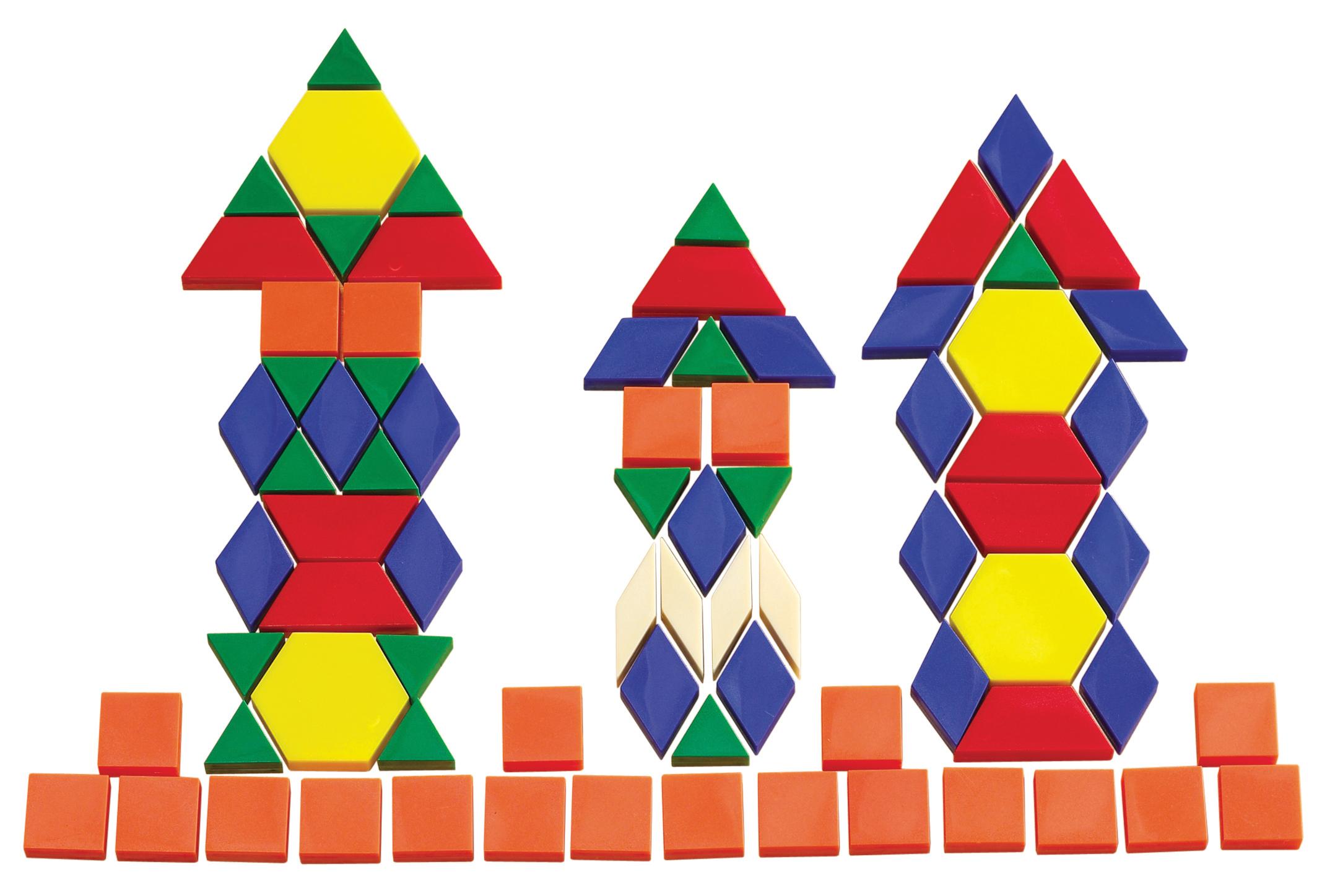 Solid Pattern Blocks Learn Heaps