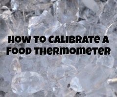 how to calibrate thermometer