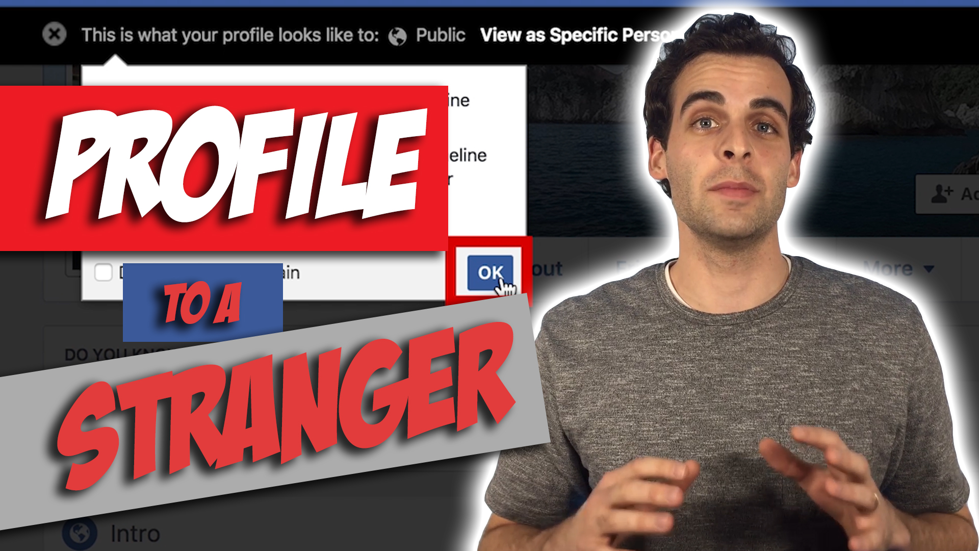 What Your Facebook Profile Looks Like to Strangers