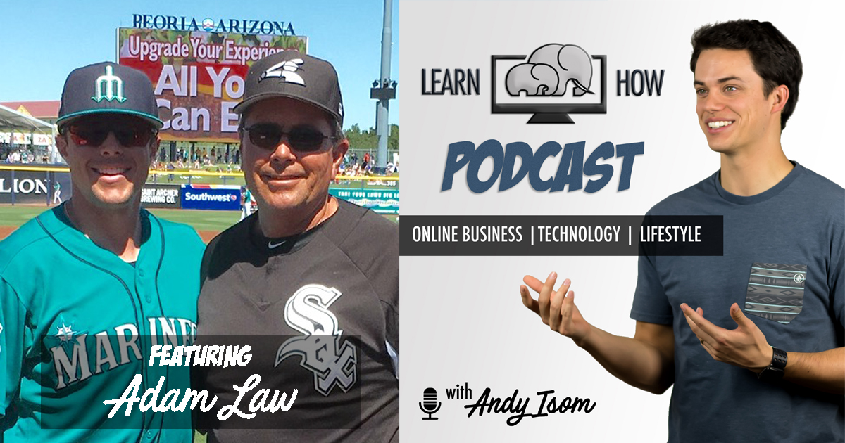 #010 – How to handle pressure and deal with high expectations with professional baseball player Adam Law