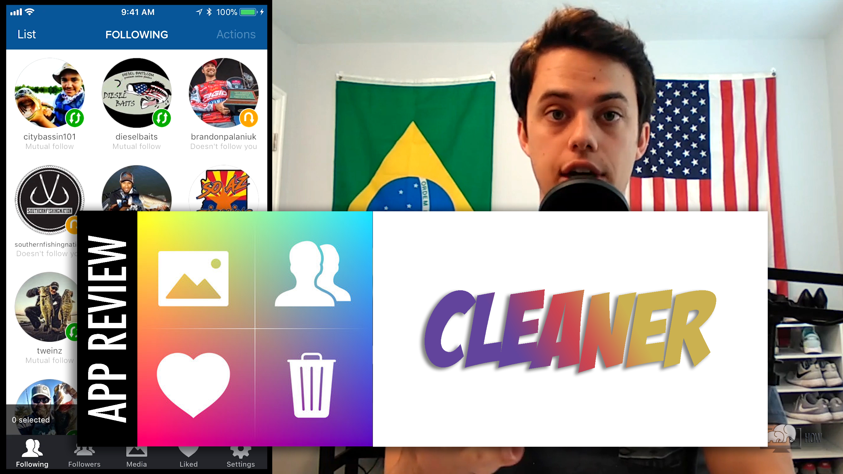 Cleaner – Bulk Unfollow Tool for Instagram