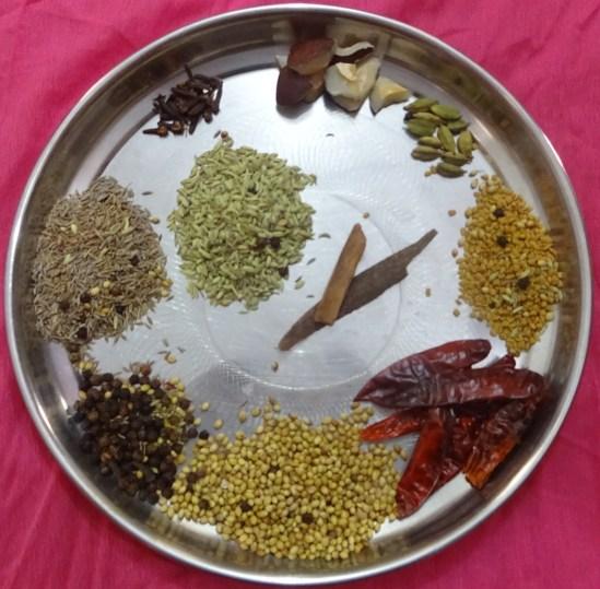 Dry Masala Ingredients