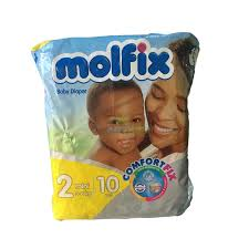 Molfix baby diaper 2 mini 3-6kg