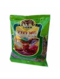 Tiger dried thyme 5g
