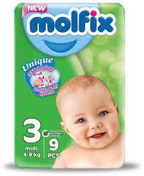molfix size 3 4-9kg midi
