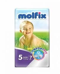 Molfix babay diaper 4 maxi 7-18kg