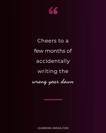 Humorous new year quotes