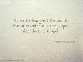 Hadith: No matter