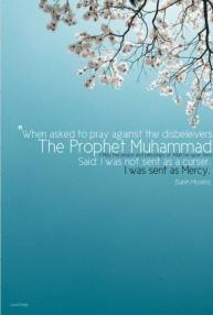 Hadith: The Prohet PBUH was sent as Mercy
