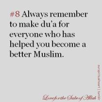 Inspiration: Make duaa