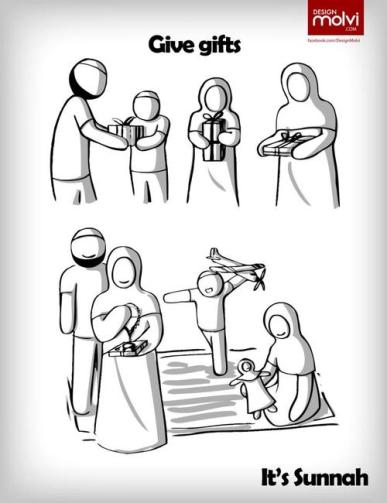Sunnah: Give gifts