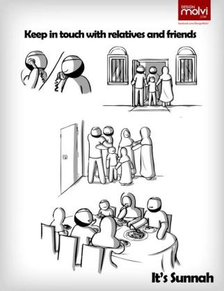 Sunnah: Keep in touch