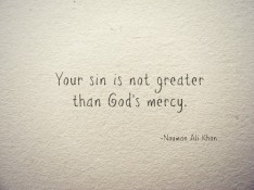 Inspiration: Allah's mercy