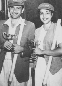 Raj Kapoor with Nargis