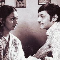Zareena Wahab and Amol Palekar in Chitchor