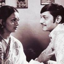Zareena Wahab and Amol Palekar in Chitchor