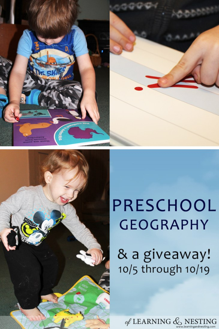 Enter to win these two books to help your preschooler learn about the world around them.