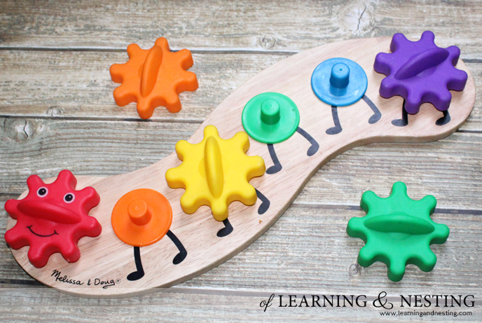 2015 Toddler Gift Guide - Melissa and Doug Caterpillar Gear Toy