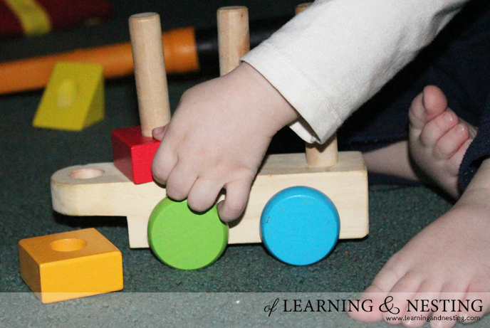 2015 Toddler Gift Guide - Melissa and Doug Stacking Train
