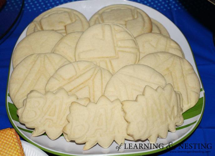 A Superhero 4th Bithday - Sugar Cookies