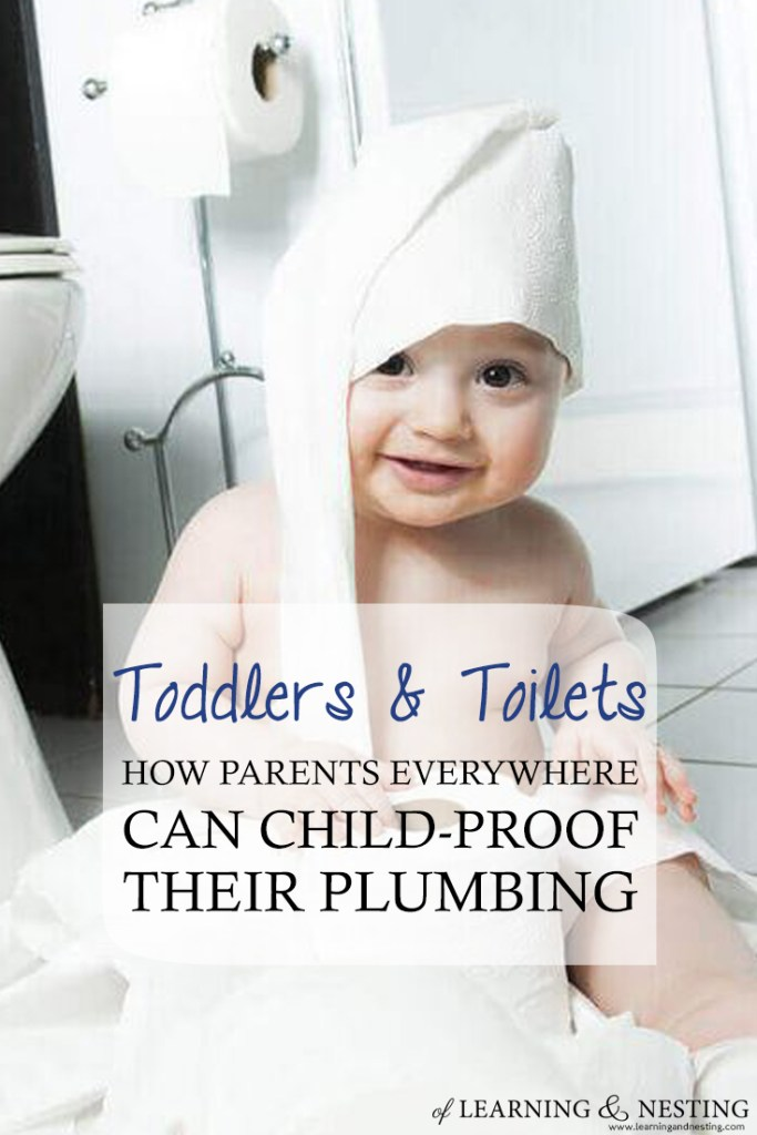 Toddlers & Toilets: How Parents Everywhere Can Child-Proof Their Plumbing - of Learning and Nesting