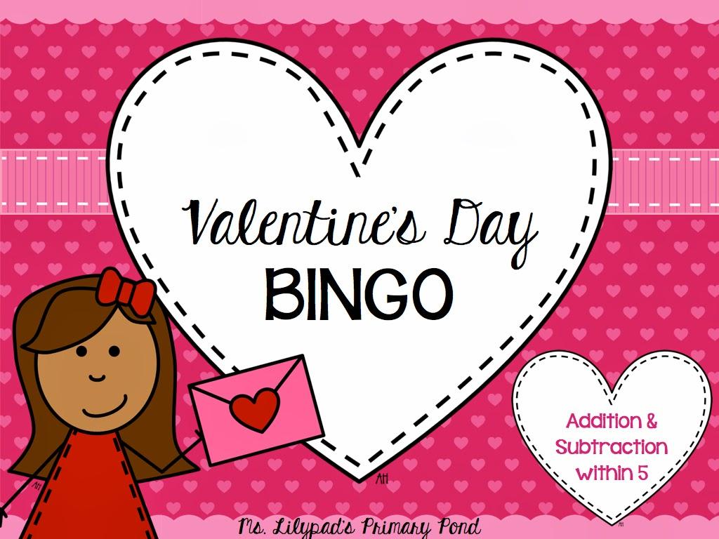 Valentine S Day Bingo Games