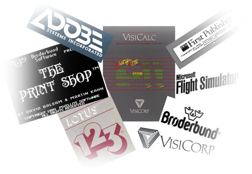 Antiguo Software Comercial