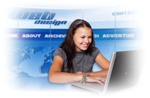 presencia en Internet a través de una Página Web