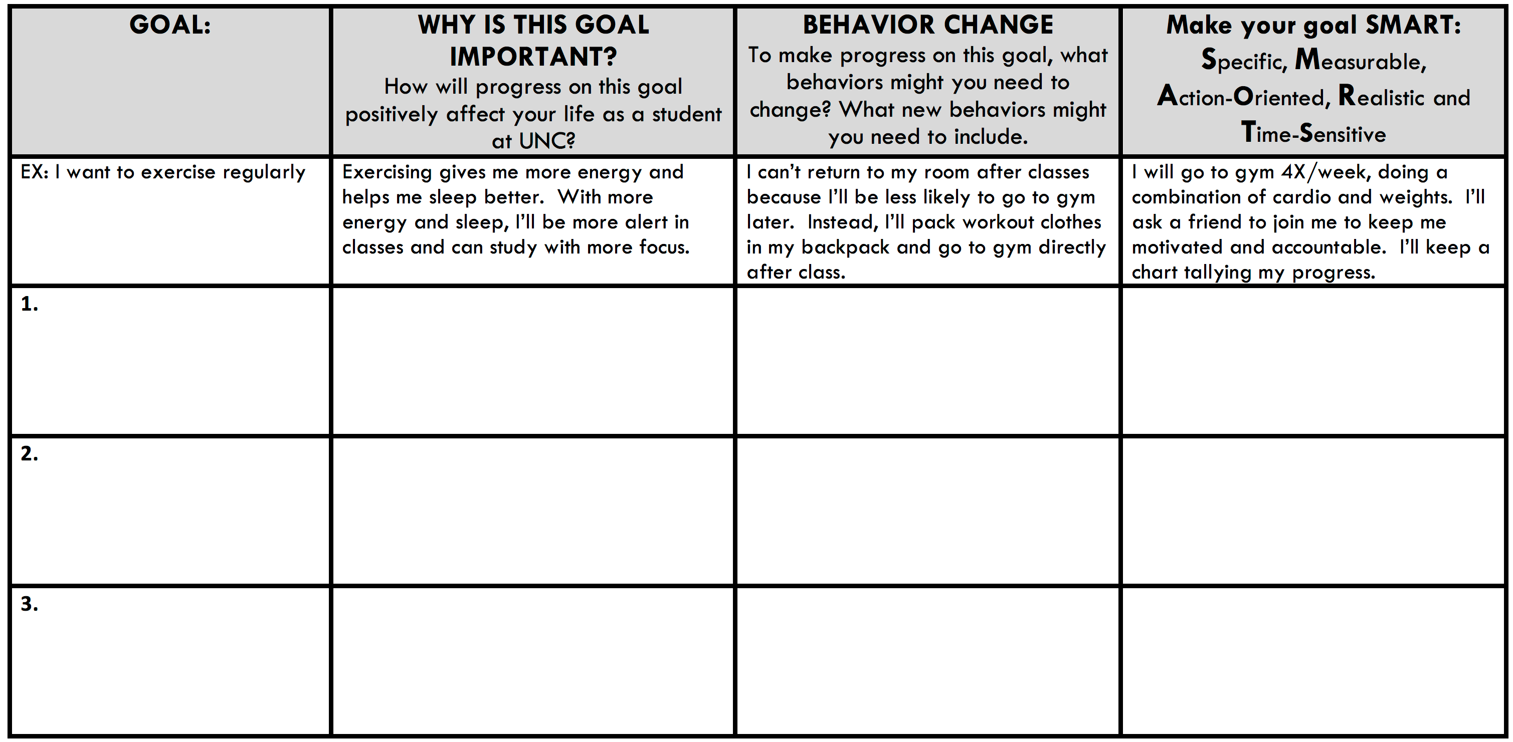 Teacher Improvement Plan Worksheet