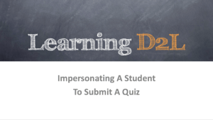 Learning D2L Podcast Slide