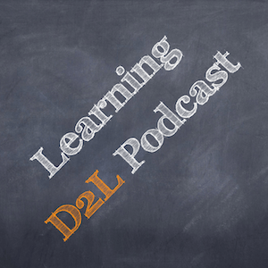 the Learning D2L Podcast Icon