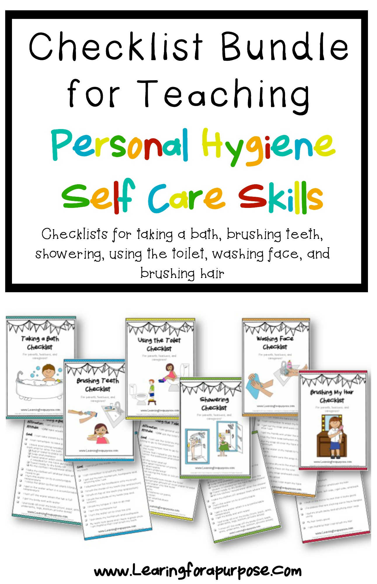 Personal Hygiene Checklists T