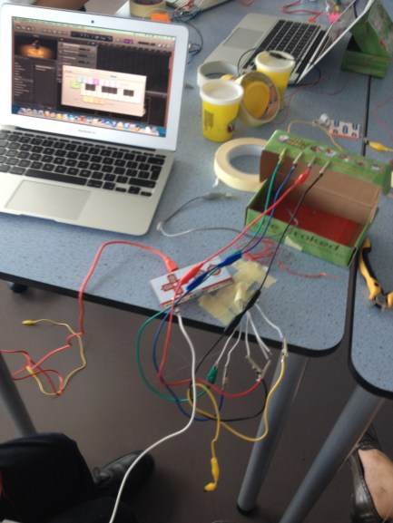 wiring up
