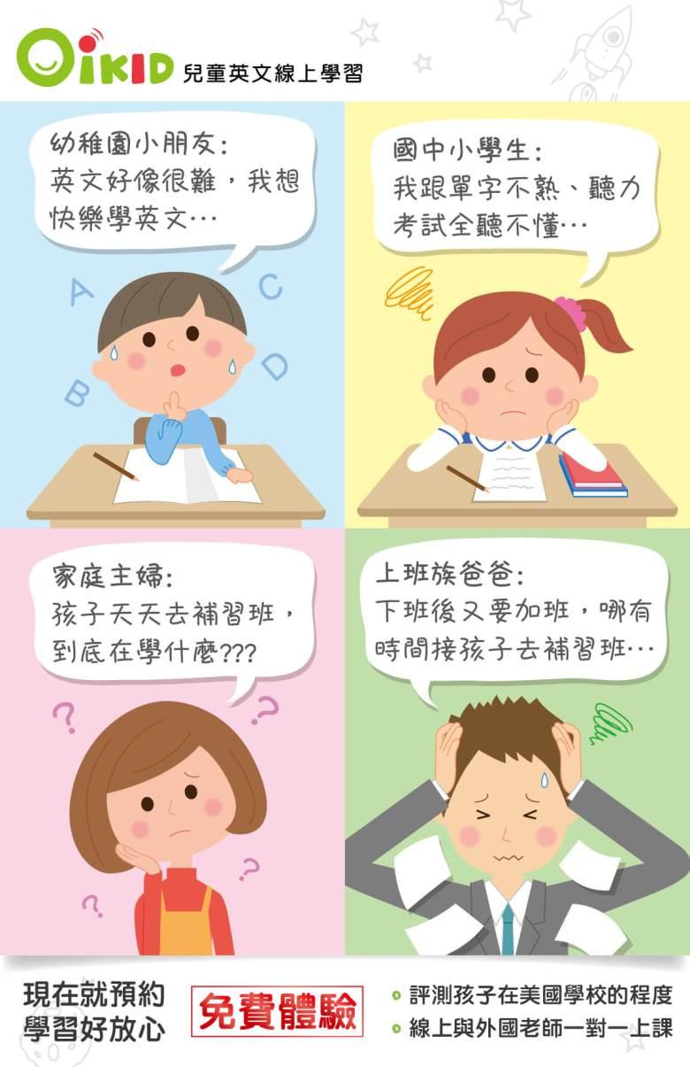 學英文很難?免費線上試聽課程