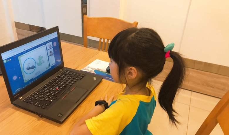兩個孩子都在 OiKID 找到學習的樂趣