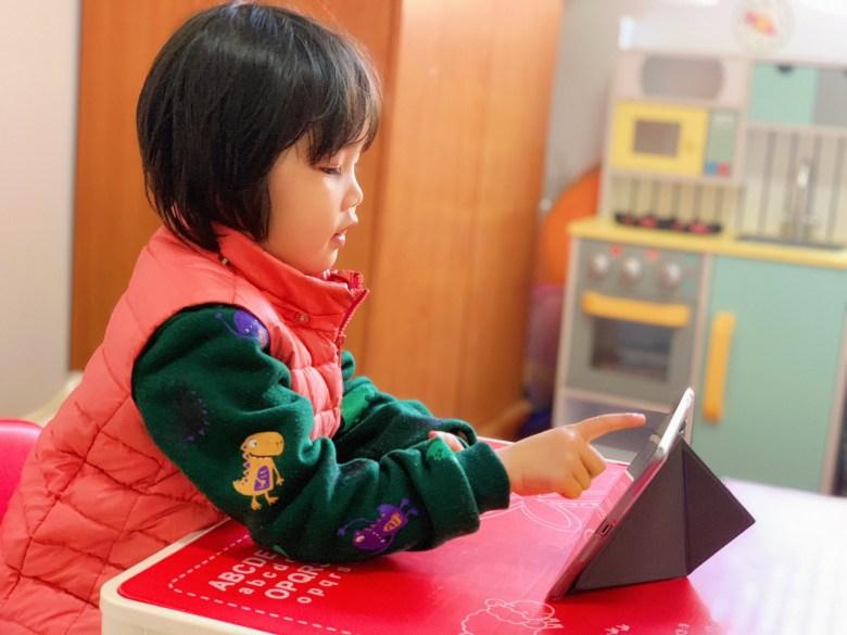 陪伴完雙寶上完兩堂課後,瘋狂媽咪真的愛上這種線上的學習方式!