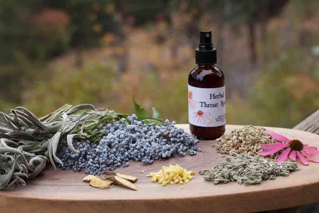 Herbal Sore Throat Spray Recipe