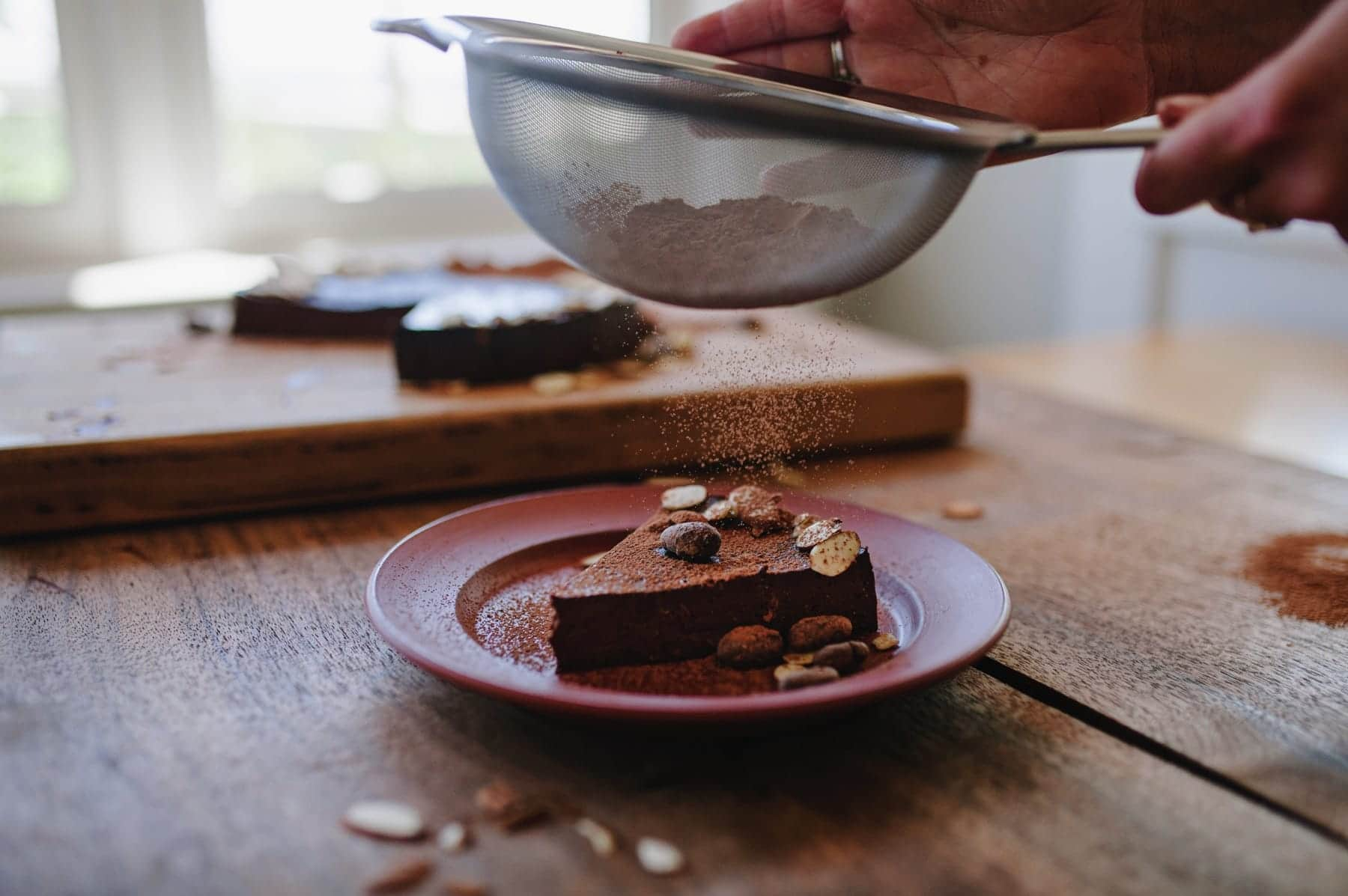 Cardamom Chocolate Mousse Torte