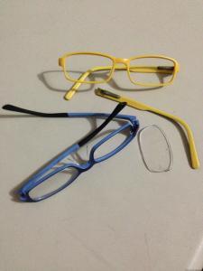 Broken Eyeglass Frames
