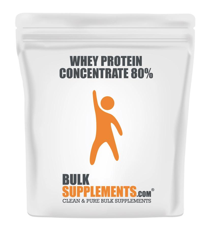Bulk Supplements Whey Protein Powder