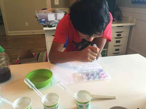 Homeschooling a dyslexic child