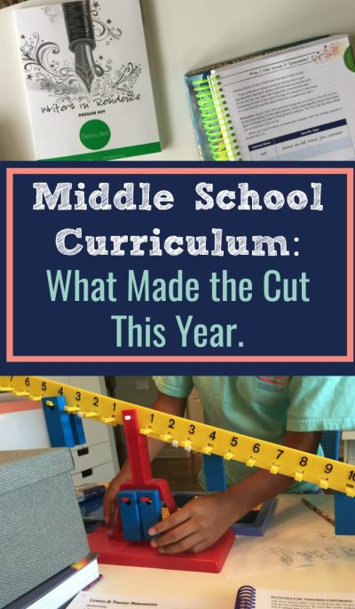 Middle School Curriculum