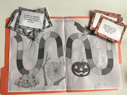 Halloween Learning Activities for Upper Elementary and Middle School Kids