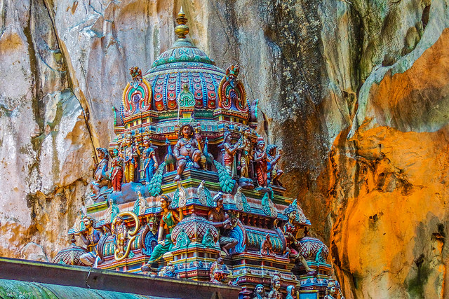 Cave Temple in India